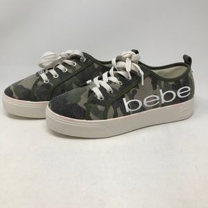 Bebe Women's Platform Sneakers NWT